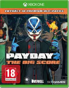 Payday 2: The Big Score (PS4 & Xbox One) für 26,48€ inkl. VSK (Game UK)