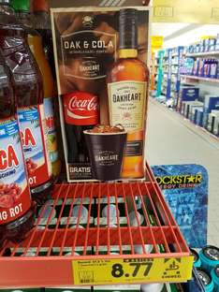 (NETTO Markendiscount) Bacardi Oakheart mit gratis Cola