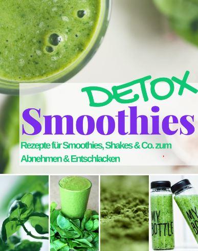 eRezeptbücher: Smoothies mit Detox-Effekt & mehr ab 0,00 - 0,99 Euro