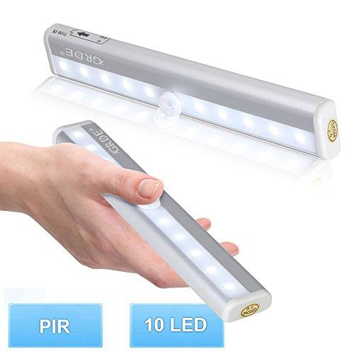 Amazon - LED Lampe mit Magnetstreifen und Bewegungsmelder im 3er Pack für 13,49€ (=4,49€ pro Stück)