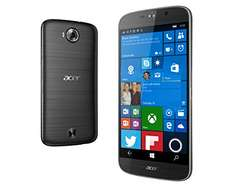 Amazon UK: Acer Liquid Jade Primo LTE Windows 10 Phone (14 cm 5,5 Zoll AMOLED, 1920 x 1080 Full HD Pixel, Hexa-Core-Prozessor, 3GB RAM, 32GB Speicher, Microsoft Continuum ) schwarz