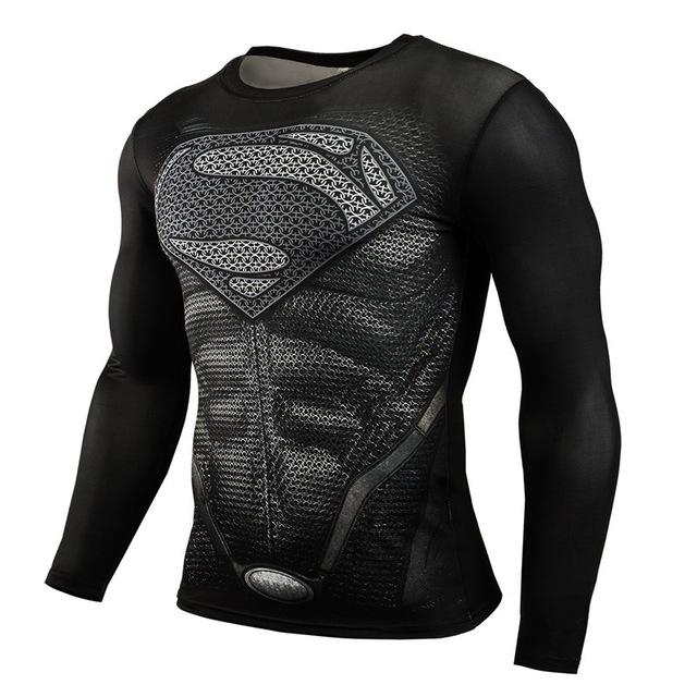 [Aliexpress] Fitness Kompressions Shirt - Superman