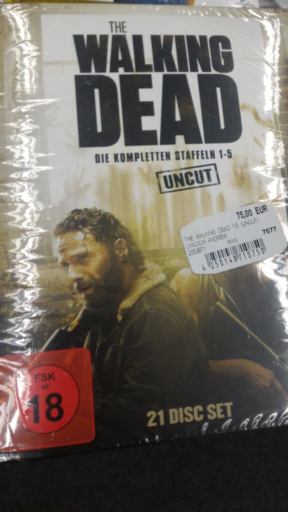 [Lokal Ulm] MediaMarkt The Walking Dead Blu-Ray Staffeln 1-5