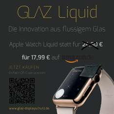 GLAZ Liquid Special für die Apple Watch