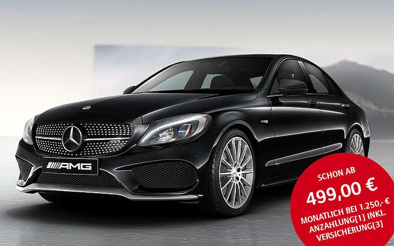 Mercedes-AMG C 43 Limousine Leasingaktion für Privatkunden