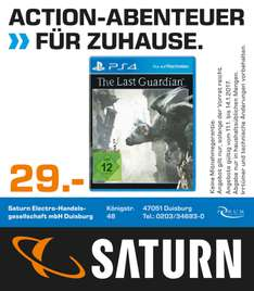 The Last Guardian - PlayStation 4 (PS4) Saturn Duisburg [29€]