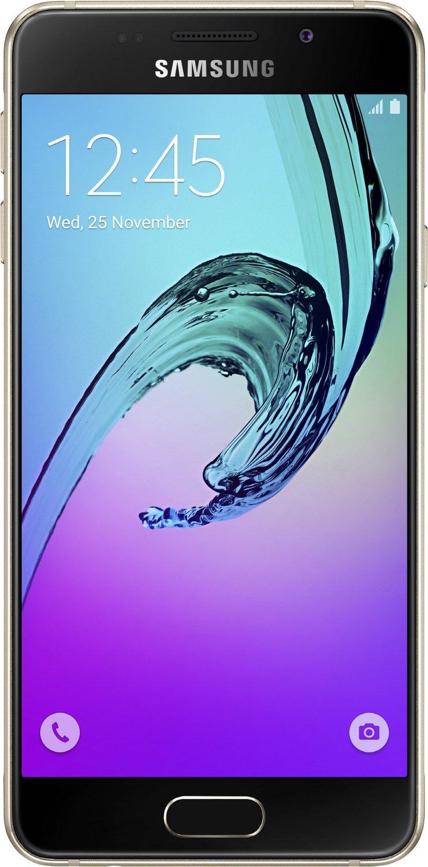 Samsung Galaxy A3 (2016) Schwarz, Weiß, Gold, Android Smartphone für 195€