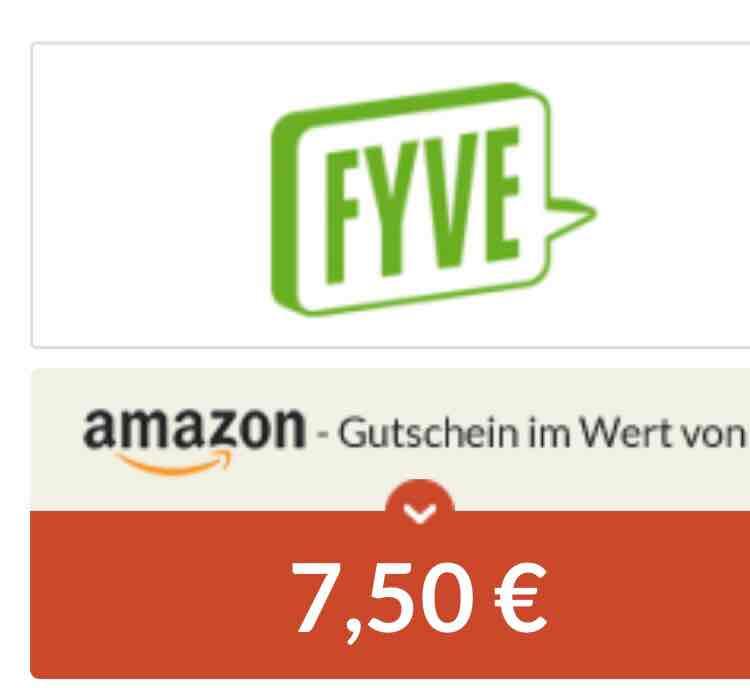ABGELAUFEN [Spartanien] FYVE SIM Karte inkl 7,50€ Amazon Gutschein