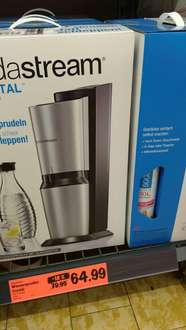 SODASTREAM Crystal (1x CO2 & 1x Glasflasche)