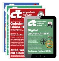 6x die Digital und Print Ausgabe der c't inkl. 20€ Amazon Gutschein bei 22,20€ Abokosten erhalten -> Effektiv 2,20€