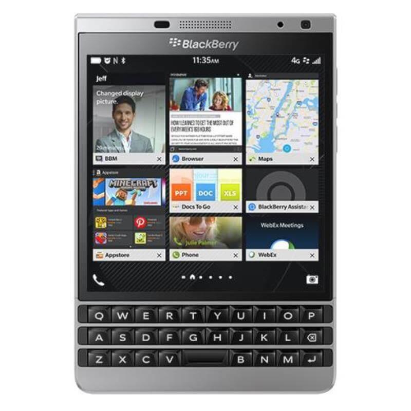[orimo.eu] BlackBerry Passport 32GB 4G Silber für EUR 220,78