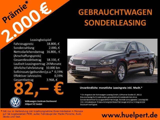 Sehr gutes VW Passat Privat leasing ab 82€ zum Teil mit Inzahlungnahmeprämien