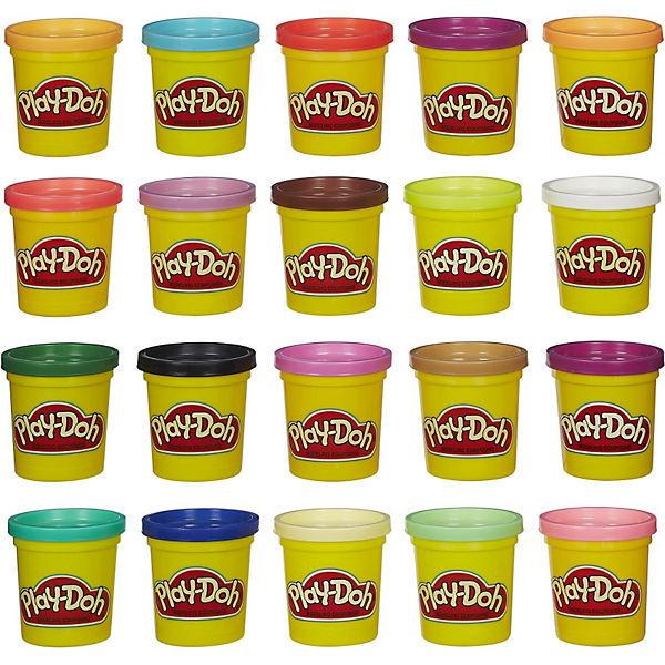 [MyToys] Play-Doh - Knet-Dosen 20er-Pack - World of Color