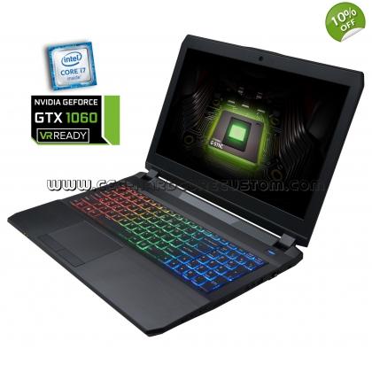 CLEVO P670RP6-G (15,6'' FHD IPS matt G-Sync, i7-6700HQ, 16GB RAM DDR4-3000, 250GB SSD 850 Evo, Geforce 1060 mit 6GB, Wlan ac + Gb LAN, bel. Tastatur, Wartungsklappe, Win 10 Pro) für 1239,27€ [CEG]