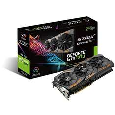 ASUS ROG Strix GeForce GTX 1070 [Amazon UK - Prime nötig]