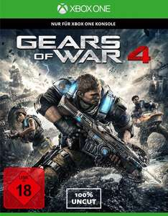 [Gamestop On- und Offline] Gears of War 4 Xbox One Disc Version für 24,96€
