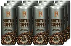 Amazon Prime: Reflex Nutrition Protein Coffee - Café Latte, 12 Dosen x 250 ml