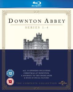 Downton Abbey - Staffel 1-4 (Blu-ray) (OT) für 14,15€
