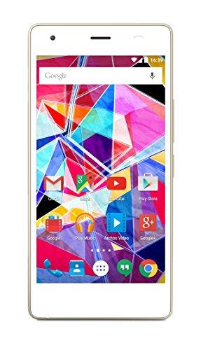 Archos Diamond S LTE + Dual-SIM (5'' HD Super Amoled, MT6753 Octacore, 2GB RAM, 16GB intern, 13MP + 8MP Kamera, Glasrückseite, kein Hybrid-Slot, 2300 mAh, Android 5.1) inkl.Vsk für 112,88 € > [amazon.fr]