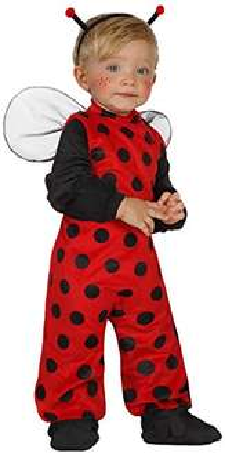 (Amazon PLUS) Atosa 23757 - Marienkäfer Kostüm, Größe 0-6 Monate, schwarz/rot für 5,05€