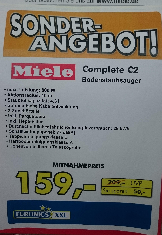 [local] Euronics XXL Burghausen - MIELE Complete C2 Twister EcoLine Bodenstaubsauger für unschlagbare 159,-