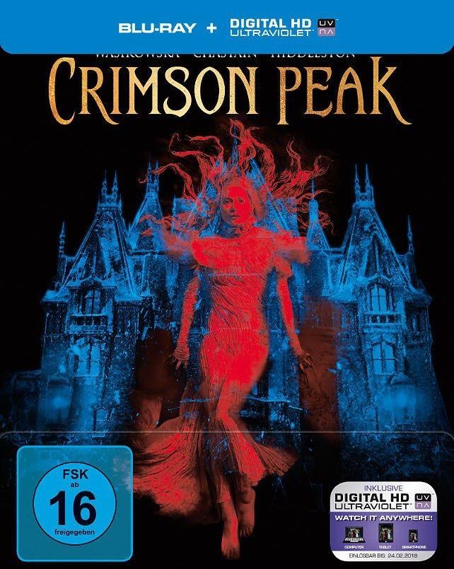 Crimson Peak Steelbook (Blu-ray) für 6,59€ inkl. VSK (Thalia)