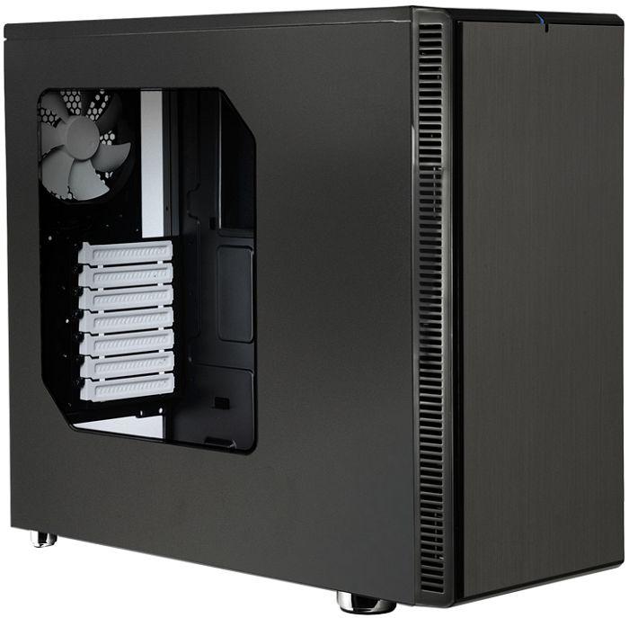 Fractal Design Define R4 Black Pearl mit Sichtfenster (ATX, schallgedämmt, Kabelmanagement, Staubfilter, Lüftersteuerung) für 74,85€ [ZackZack]