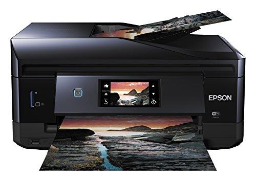 Epson Expression Photo XP-860 Tintenstrahl-Multifunktionsgerät (Drucken, Scannen, Kopieren und Fax) schwarz (statt 155,99€)