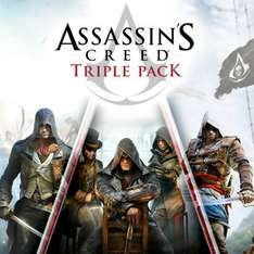 [PlayStation Store] Assassin's Creed Triple Pack (Black Flag, Unity, Syndicate) PS4 für 29,99€ exklusiv für PS Plus Mitglieder