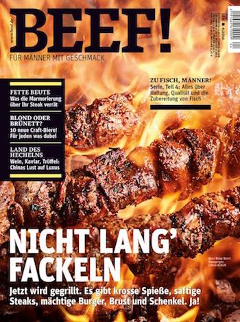 BEEF! für 48 Euro 1 Jahr lang im Abo