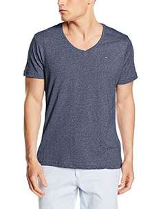 Tommy Hilfiger Denim Herren T-Shirt V-Neck bei Amazon
