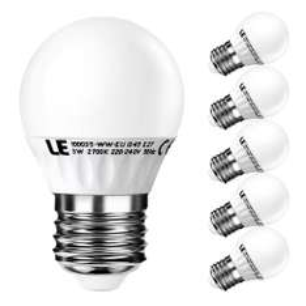 LED Lampen - E27 Heimausrüstung - 5,5/40W + 3/25W sowie Marken Alternative - Jeweils bei Amazon