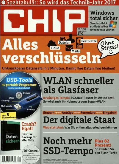 CHIP DVD - Jahresabo (12 Ausgaben inkl. DVD) für 24,95€ durch 65% Rabatt (ohne Prämienverrechnung, ohne Gutscheincode)