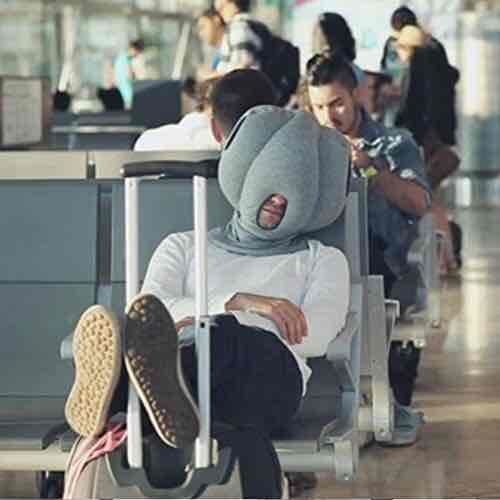 Ostrich Pillow (Straußen Kissen) Versand aus China ! für 2,85€