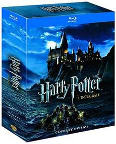 [Amazon Fr] Harry Potter Blu-ray Box für 19,85€ inkl. Versand