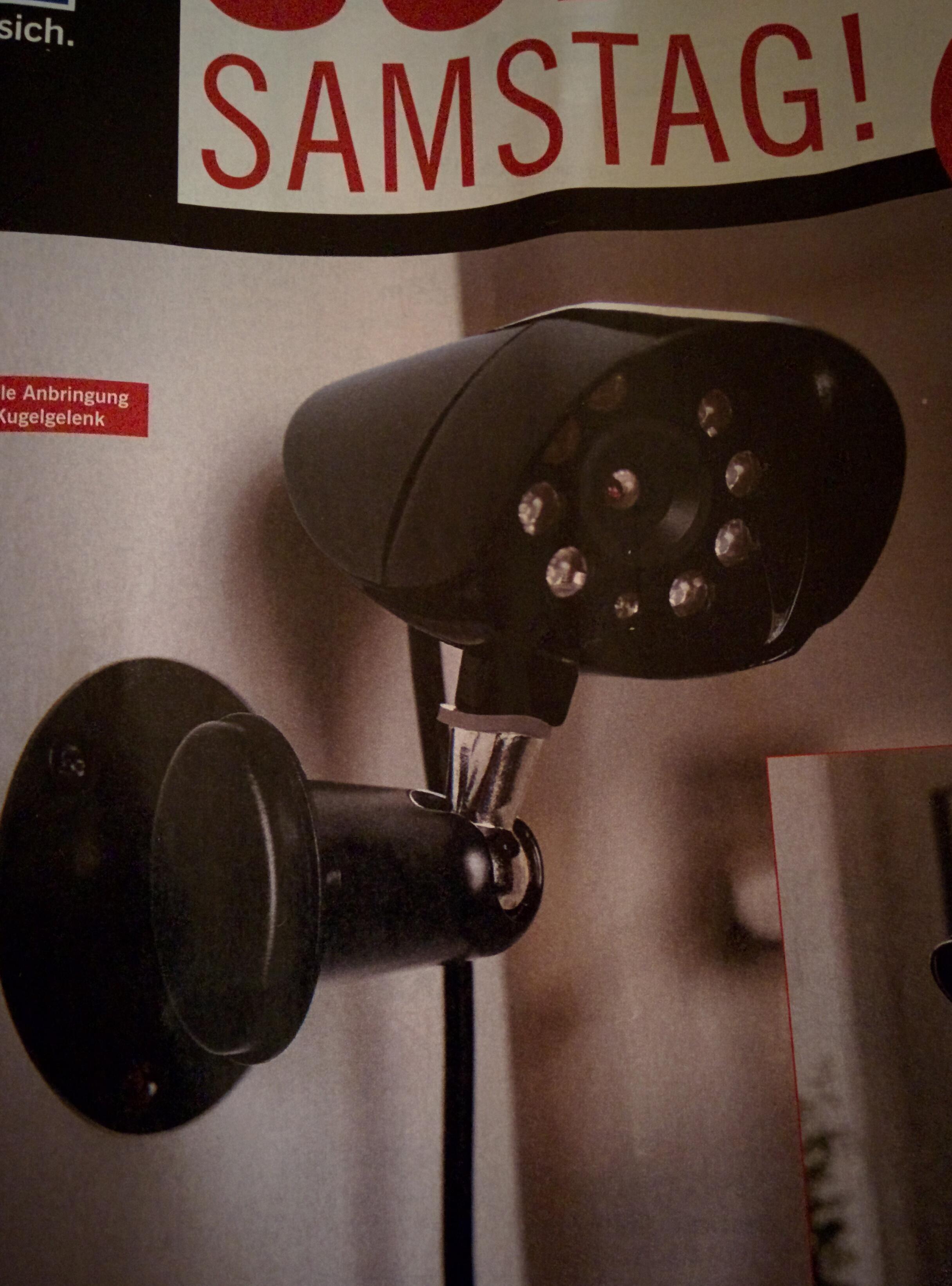 [Lidl nur am 21.01 lokal] Überwachungskamera IP44