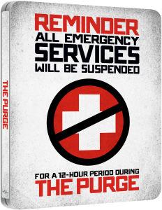The Purge - Zavvi UK exklusive limitierte Steelbook Edition dt.Ton(streng limitiert) Blu-ray 7,10 €