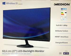 (Lokal Köln) 27 Zoll FullHD Monitor von Medion (P57581 MD 20581)