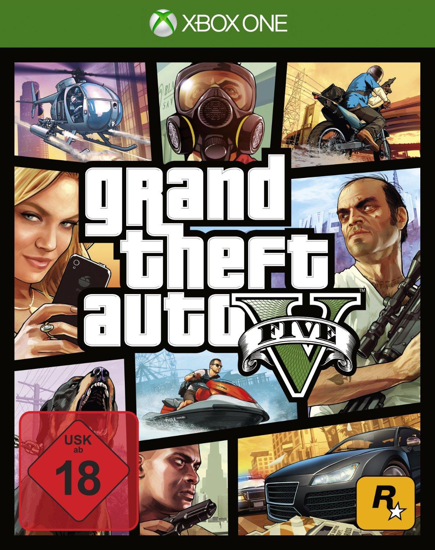 [Amazon] Grand Theft Auto 5 (GTA 5) Xbox One für 28,02€