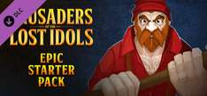[STEAM] Crusaders of the Lost Idols: Epic Starter Pack (DLC) @Game Giveaway of the Day