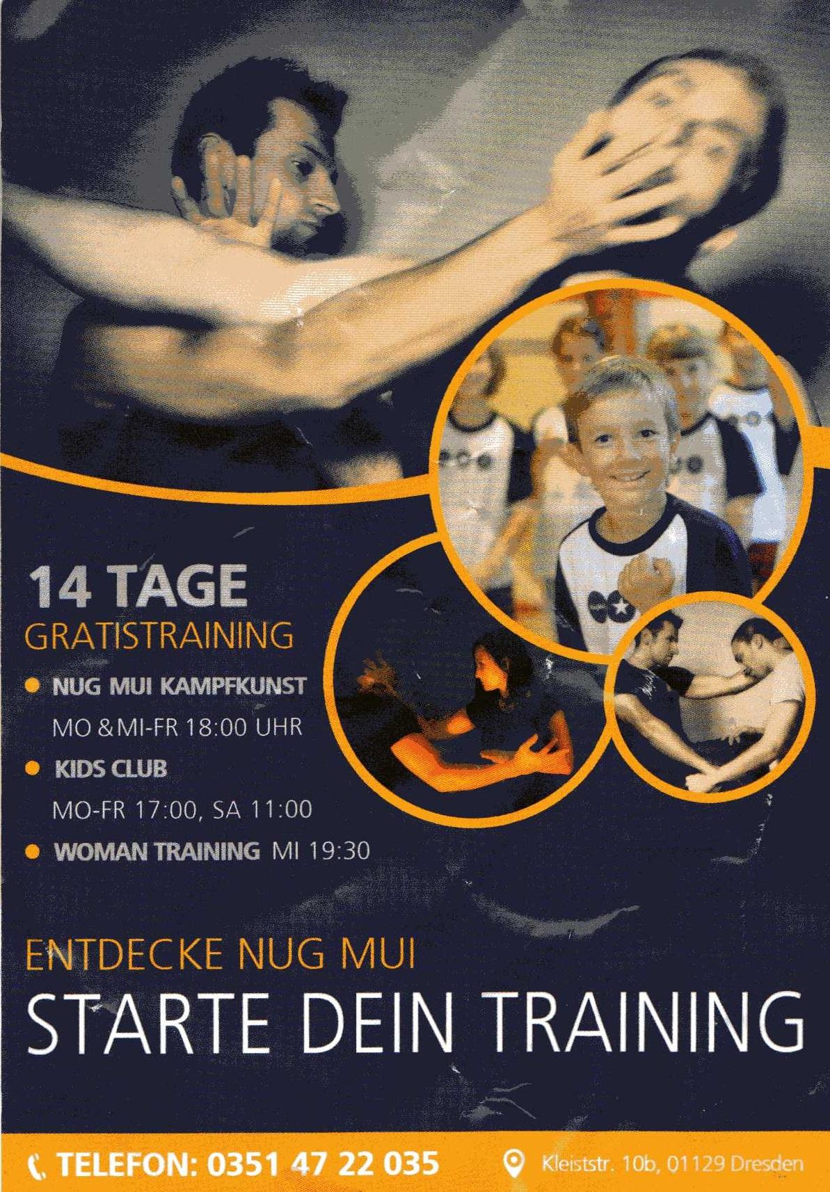 "[Dresden] Kampfkunst ""Nug Mui"" 14 Tage Gratistraining"