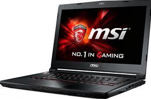 """MSI GS40-6QE81FD Notebook i7-6700HQ 14,0"""" matt FHD 8GB 1TB Nvidia GTX 970M"""