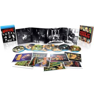 Universal Classic Monsters Collection Dracula Mummy Der Schrecken vom Amazonas in 3D (!!) Frankenstein und mehr plus Art Cards etc. 8 Filme / 8 Blu-Rays nur 11,89 Zavvi