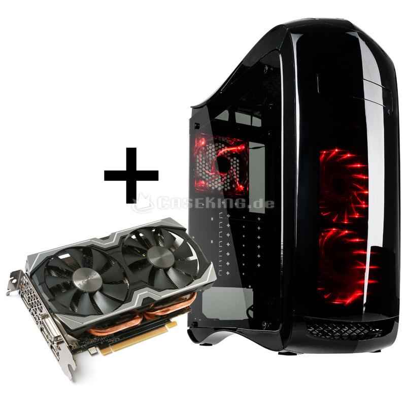 Zotac GeForce GTX 1060 6GB AMP! (mit 5 Jahren Garantie) + Zubehör aus Auswahl (z.B. Razer Naga Hex Gaming Mouse) für 319,89€ [Caseking]