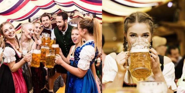 """Stuttgart: Frühlingsfest - Tisch-Reservierung für 10 Pers. inkl. 10 Maß und 10 halben Göckele für 99,99 Euro statt 193 Euro im Festzelt """"Zum Wasenwirt"""""""