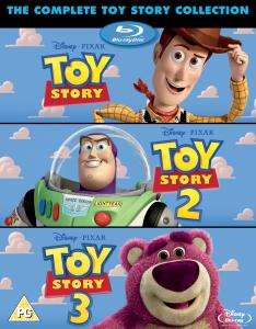 Toy Story 1-3 (enthält Bonus Disc) (Blu-ray englische Version) für 13,17€ inkl. VSK (Zavvi)