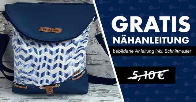 [Makerist] Gratis Schnittmuster und bebilderte Nähanleitung als PDF für eine Tasche statt 5,10€