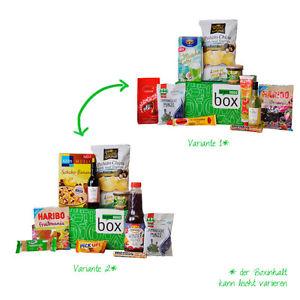brandnooz Überraschungs-Box für 9,99€inkl VSK (Waren im Wert von 18€) @ eBay