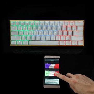 [banggood] Gaming Tastatur mit Farbwechsel vom Handy aus möglich MIT Gutschein code sehr gute preis erhältlich.