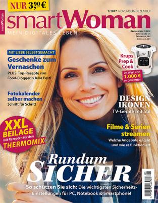 SmartWoman Magazin. 1 Ausgabe gratis. Kündigung notwendig